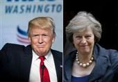 مشاجره ترامپ با نخستوزیر انگلیس بر سر ایران