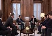 الاسد یستقبل 3 أعضاء من الجمعیة الوطنیة الفرنسیة