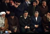 وداع با پیکر آیت الله هاشمی رفسنجانی در حسینیه جماران