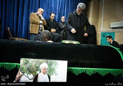 وداع با آیتالله هاشمی رفسنجانی در حسینیه جماران