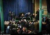 برگزاری مراسم وداع با آیتالله هاشمی رفسنجانی در حسینیه جماران