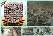 رنگ مظلومیت جاودانه مقاومت ملت ایران/ کشتار 68 دانشآموز بروجرد به دست صدام و غرب+فیلم و تصاویر