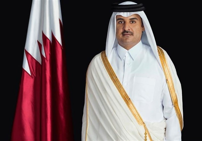 أمیر قطر یبرق معزیا بوفاة آیة الله هاشمی رفسنجانی