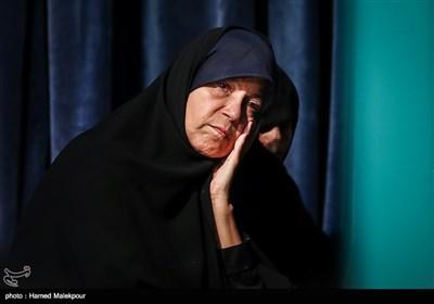 فائزه هاشمی فرزند مرحوم آیت الله اکبر هاشمی رفسنجانی - حسینیه جماران