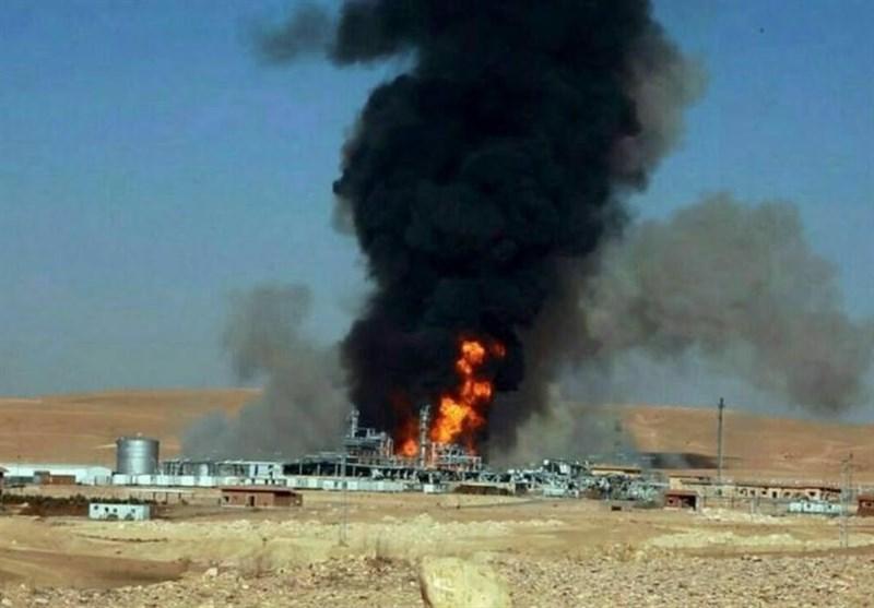 حمص انفجار گاز