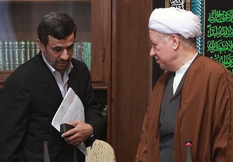 احمدینژاد درگذشت آیتالله هاشمیرفسنجانی را تسلیت گفت
