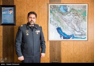 امیر علیرضا الهامی معاون عملیات قرارگاه پدافند هوایی خاتمالانبیا(ص)