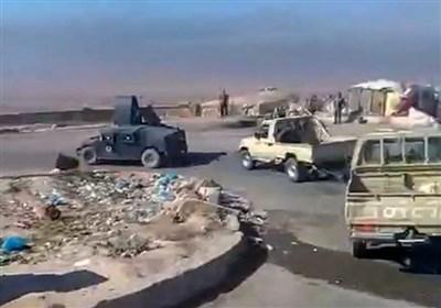 اخراج نظامیان امریکایی توسط نیروهای مردمی از مکحول عراق