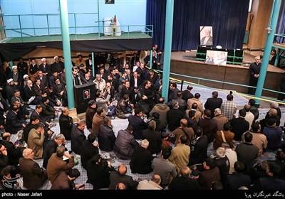 وداع مردم و مسئولان با پیکر آیتالله هاشمی رفسنجانی (2)