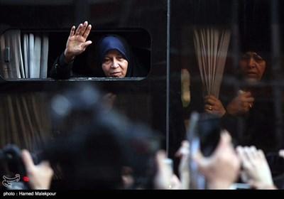 مراسم تشییع جثمان آیة الله هاشمی رفسنجانی فی طهران