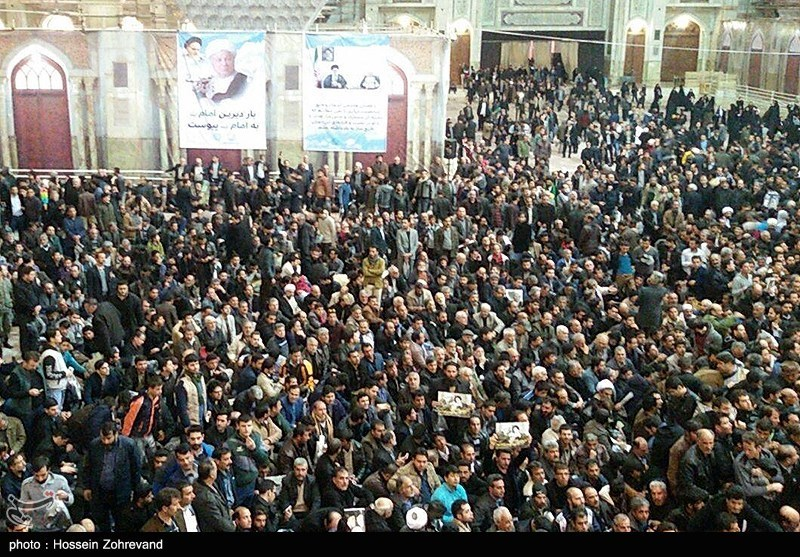 تہران؛ آیۃ اللہ رفسنجانی کی نماز جنازہ میں لاکھوں لوگوں کی شرکت