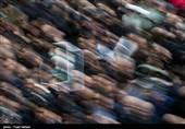 جثمان آیة الله رفسنجانی یوارى الثرى بجوار مرقد الإمام الخمینی (رض)