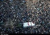 رویترز: ایران در نمایشی از اتحاد با رئیس جمهور اسبق وداع کرد