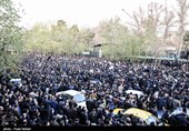 الجدید: مراسم تشییع رئیس جمهور اسبق ایران در تهران برگزار شد