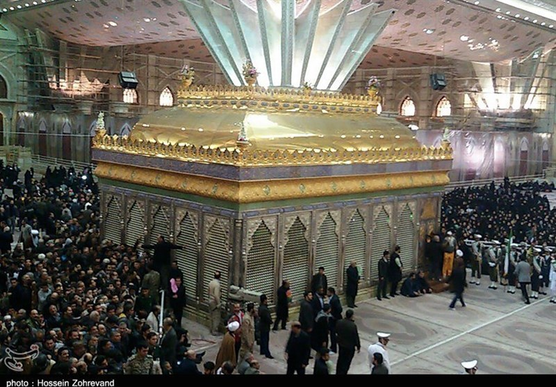 Ayatollah Rafsanjani Laid to Rest in Imam Khomeini's Shrine