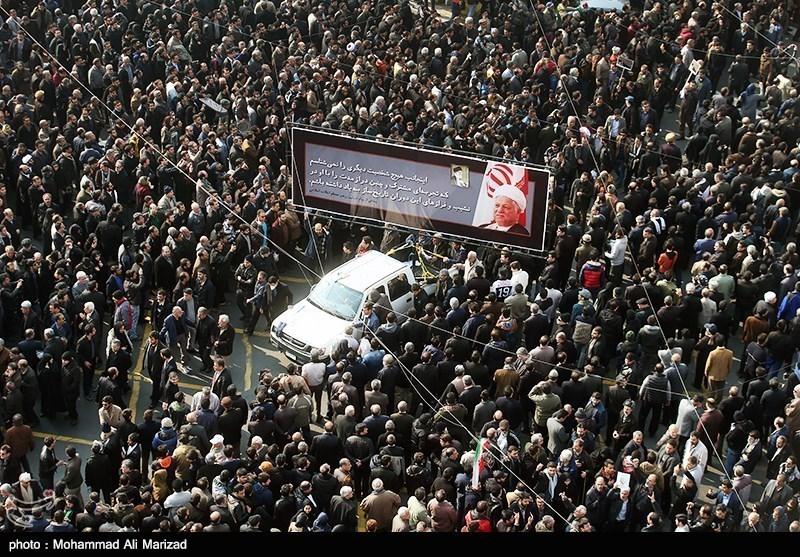مراسم تشییع و تدفین پیکر آیتالله هاشمی رفسنجانی