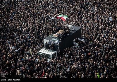 مراسم تشییع جثمان آیة الله رفسنجانی فی طهران