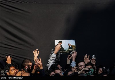 Ex-Iranian President Rafsanjani's Funeral in Tehran