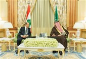 دیدار میشل عون با پادشاه عربستان