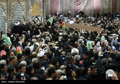 مراسم تشییع پیکر آیت الله هاشمی رفسنجانی حرم امام خمینی(ره)