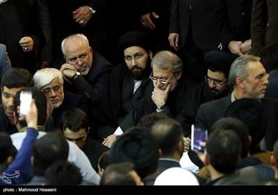 مراسم تشییع پیکر آیت الله هاشمی رفسنجانی در حرم امام خمینی(ره)