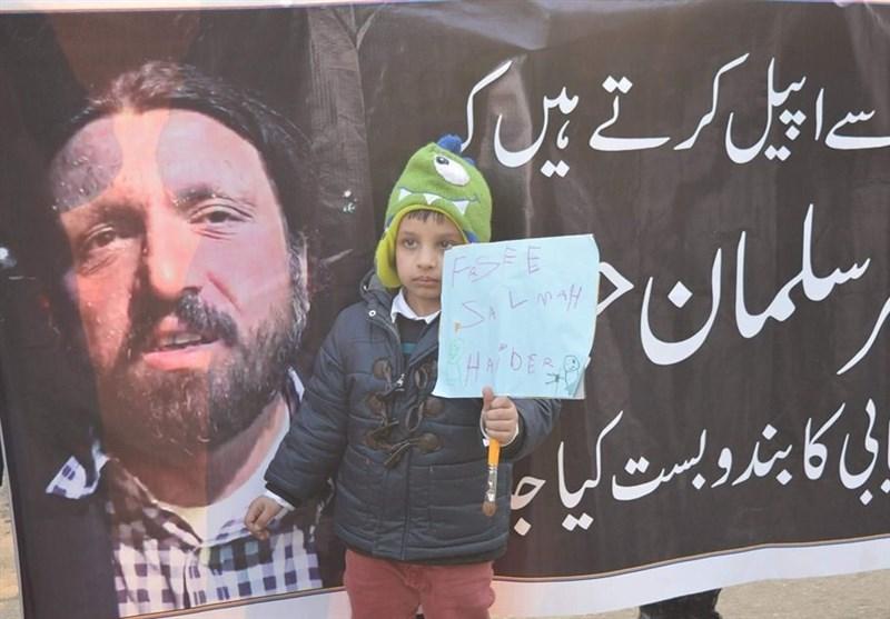 لاہور میں جبری گمشدگیوں کے خلاف سول سوسائٹی کا احتجاج/ تصویری رپورٹ