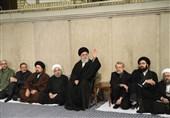 مراسم تأبین آیة الله رفسنجانی بحضور الإمام الخامنئی