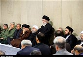 مراسم ترحیم آیتالله هاشمی رفسنجانی در حسینیه امامخمینی(ره)