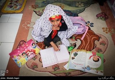 ملیکا کریمی دختر شهید جاویدالاثر مدافع حرم مرتضی کریمی