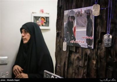 همسر شهید جاویدالاثر مدافع حرم مرتضی کریمی