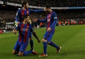 صعود بارسلونا در پایان یک نبرد جذاب