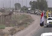 تجهزات حشدالشعبی در راه غرب موصل