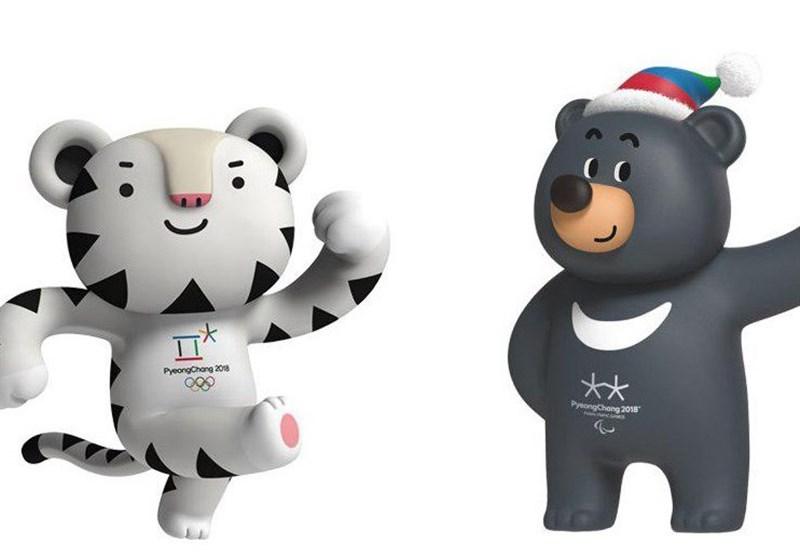 ببر سفید و خرس سیاه