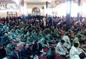 """ادای احترام اردبیلیها به """"آیتالله هاشمی""""/خیابانهای اطراف مسجد سرچشمه مملو از جمعیت بود"""