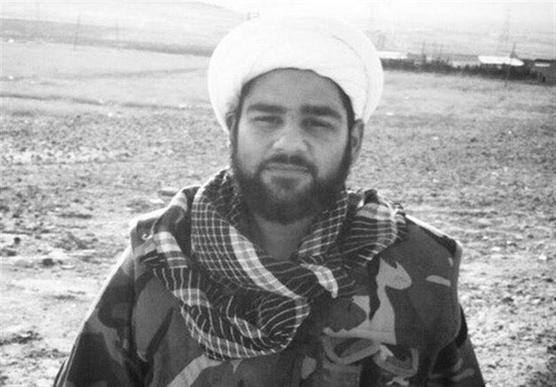 شهید حجتالاسلام و المسلمین جابر حسینپور نخستین روحانی شهید مدافع حرم اهواز
