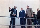 وزیر ورزش و جوانان از استادیوم 15 هزار نفری اراک بازدید کرد