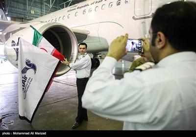 تحویل نخستین هواپیمای ایرباس 321 به ایران