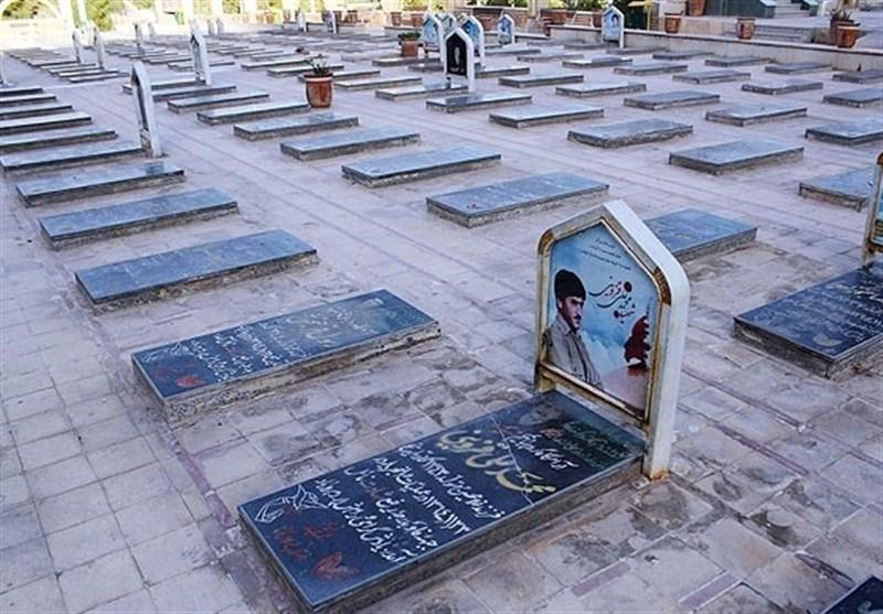 گلزار شهدای شهر کرمان نورپردازی میشود