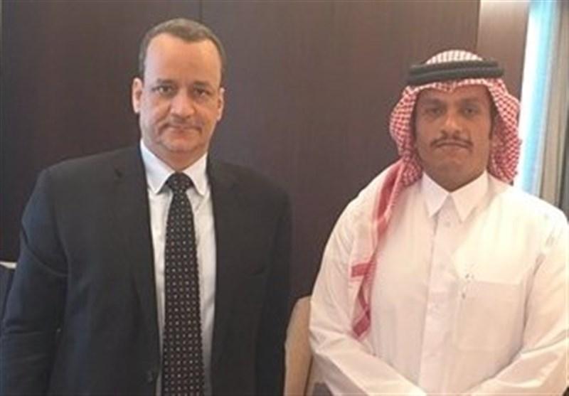 ولد الشیخ و وزیر خارجه قطر