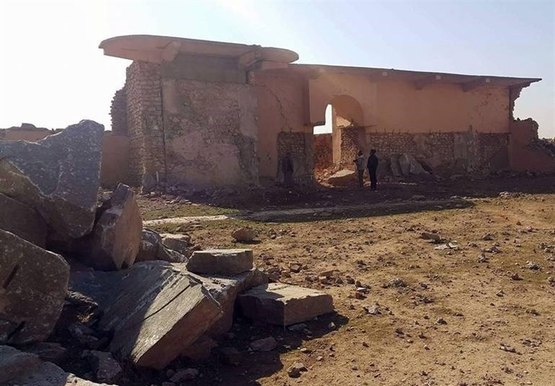 تخریب آثار باستانی نمرود