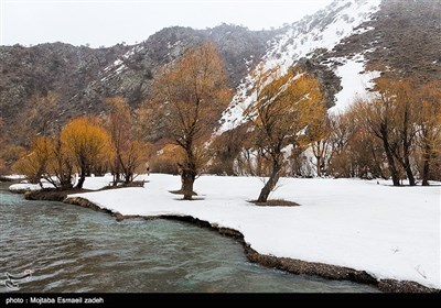 Iran's Beauties in Photos: Winter in Oroumiyeh