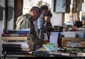 رمق جمعه بازار کتاب مشهد گرفته شده / اینجا چراغی روشن است+ تصاویر