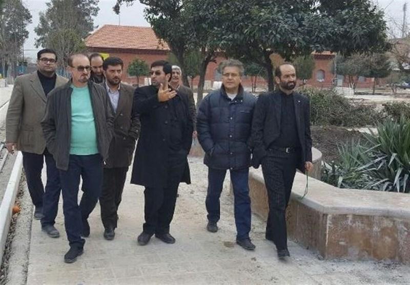 بازدید عضو شورای شهر تهران و اساتید دانشگاه از پروژههای ساری