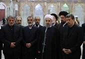 روحانی: الشعب الایرانی اظهر للعالم وحدة النظام من خلال مشارکته فی مراسم التشییع