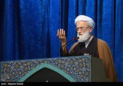 ایت الله امامی کاشانی خطیب نماز جمعه تهران