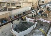ریزش آوار در تونل انرژی تبریز و مدفون شدن 5 کارگر/2 نفر نجات یافتند+تصاویر