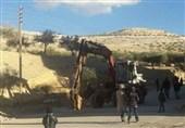"""دخول عمال الصیانة إلى نبع """"عین الفیجة"""" بریف دمشق الغربی +صور"""