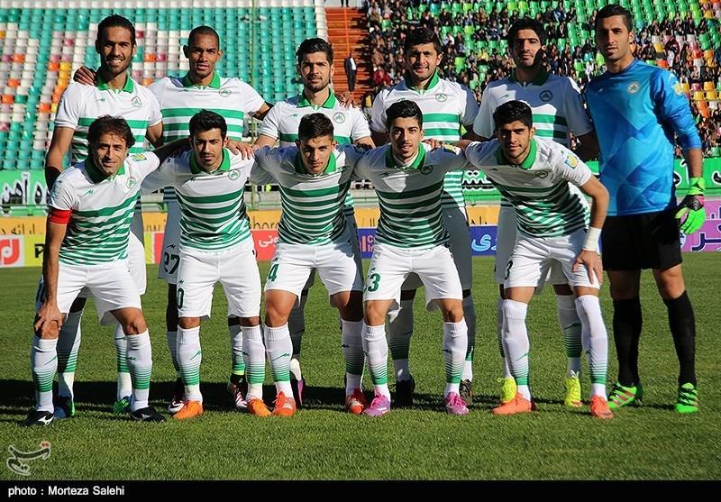 دیدار تیمهای فوتبال ذوبآهن و سیاهجامگان - اصفهان