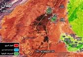 نقشه منطقه وادیبردی دمشق