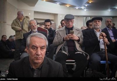 علی کفاشیان در مراسم ختم حاج رضا آصفی پدر حمیدرضا آصفی سخنگوی اسبق وزارت امور خارجه